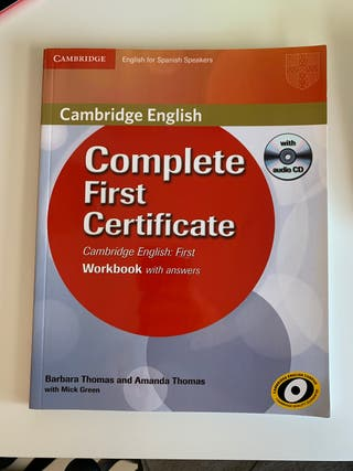 Complete First Certificate. Libro inglés.