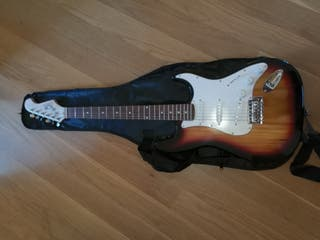 Guitarra eléctrica + Amplificador + Funda