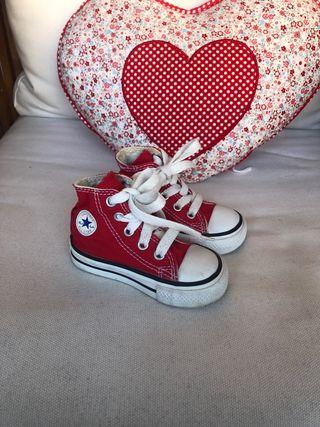 Zapatillas Converse All Star talla 20