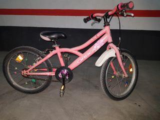 bicicleta orbea 18 pulgadas rosa