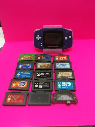 Game boy Advance + 14 juegos ( 120€ )