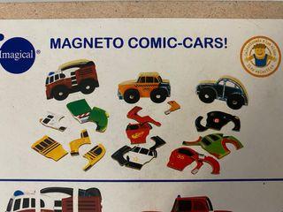 IMAGINARIUM MAGNETO COMIC CARS