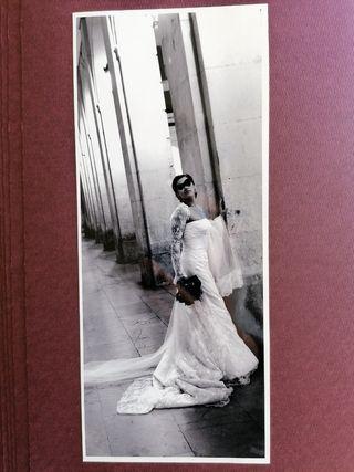 Vestido de novia encaje, modelo sevillano