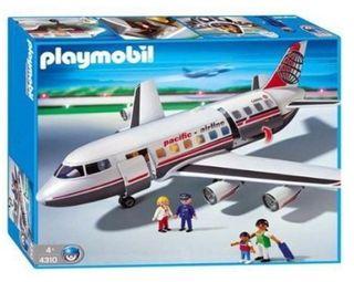 playmobil: avión comercial referencia 4310