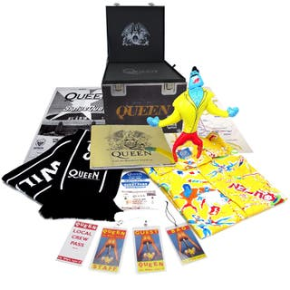 Queen Box set Wembley Magic Tour Roadie Cube