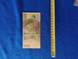 reproducción billetes polaco baño oro 24k