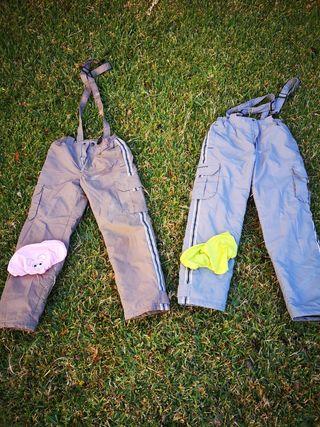 Pantalón de esquí niño. Regalo cubrecascos.