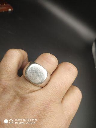 sello de plata hombre