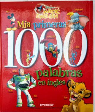 Mis primeras 1000 palabras en inglés.