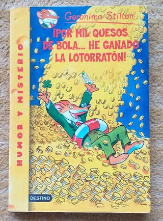 "Libro Geronimo Stilton ""por mil quesos de bola ..."