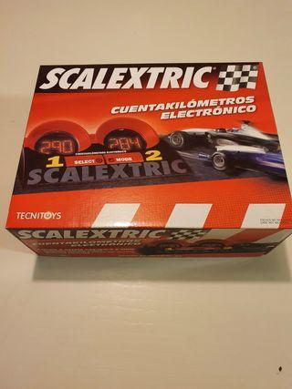 Cuentakilómetros Electronico SCALEXTRIC