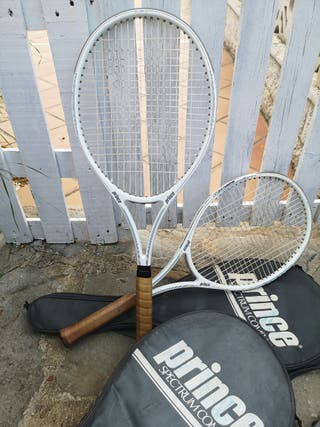Raqueta de tenis vintage (Prince spectrum comp 110