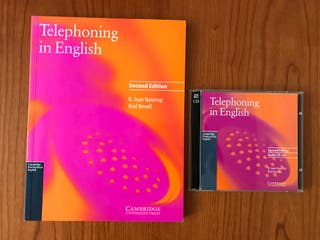 Curso Telephoning in English, con libro y 2 CDs