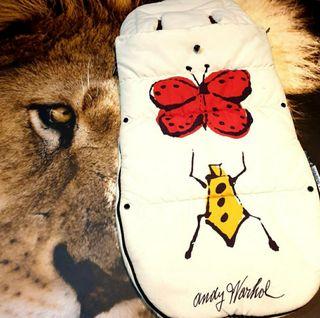 Saco Edición limitada Andy Warhol bugaboo!!