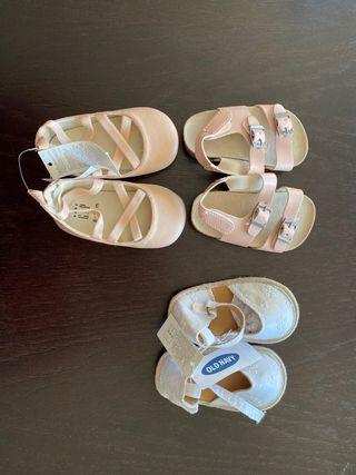 Zapatos bebé GAP OLD NAVY NUEVOS