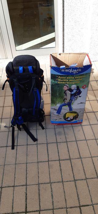 mochila de montaña portabebés