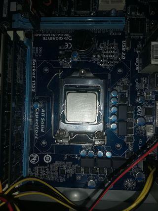 placa base + i5 3330 + 8gb RAM