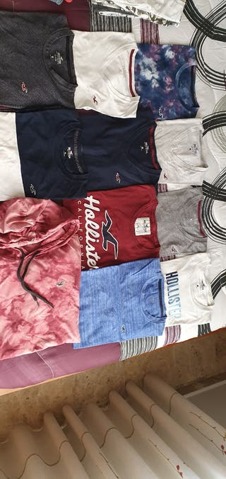 PACK 11 CAMISETAS HOLLISTER XS