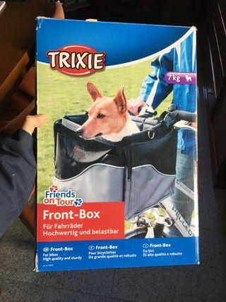 Cesta bici para perros