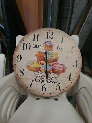 reloj de pared (cocina y / o comedor )
