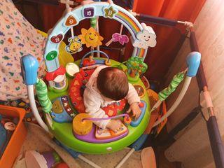 saltador bebe fisher price / mesa de juegos bebe