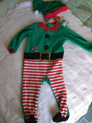 Disfraz Navidad 9-12 meses