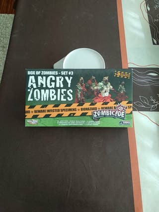 Zombicide set #3 Angry Zombies