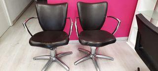 sillas peluquería