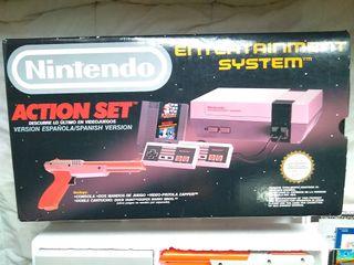 Consola Nintendo Action Set Completa