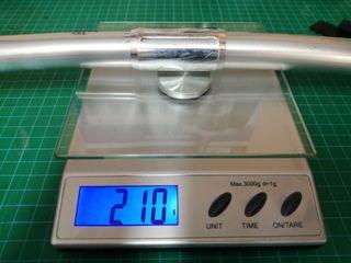 Manillar de aluminio Kona 56cm 210grs