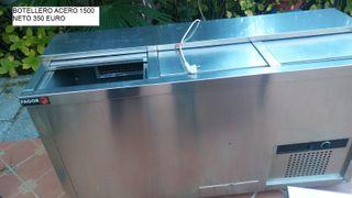 Botellero frigorifico bar acero inox fagor