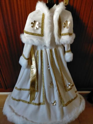 Disfraz niña reina de las nieves