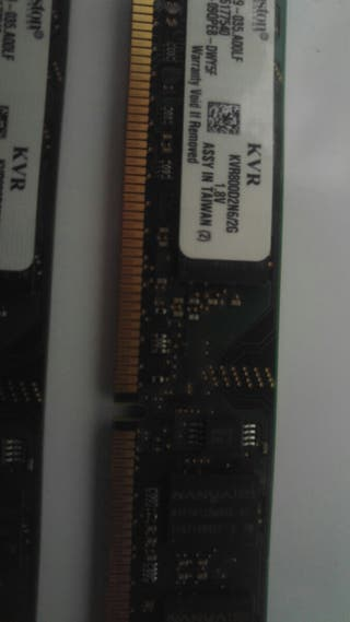 Memoria RAM DDR 800 2 RAM
