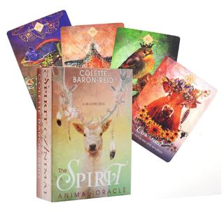 """cartas tarot """"El Oráculo del Espíritu Animal"""""""