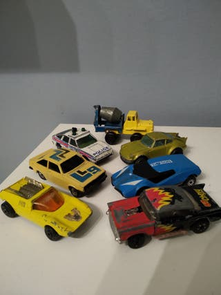 lote coches antiguos juguete matchbox