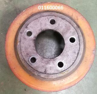 Cambio de ruedas industriales, Transpaletas, apila