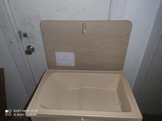 mueble bañera para bebes