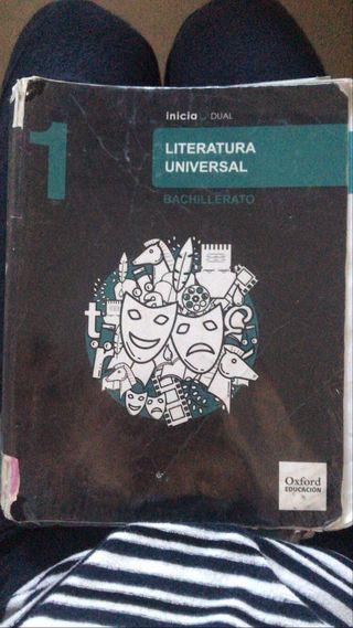 LIBRO LITERATURA UNIVERSAL OXFORD 1º BACHILLERATO