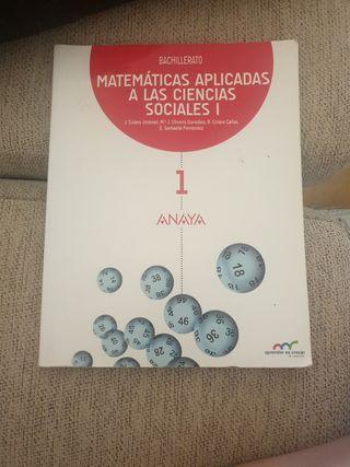 Matemáticas aplicadas a las CCSS 1°Bachillerato