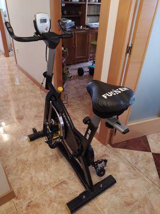 Bicicleta de spinning homcom.