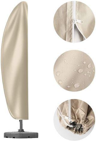 Funda sobrilla parasol grande impermeable