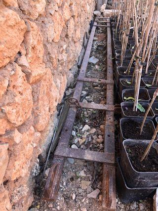 Grada para cultivadores de 17 camas