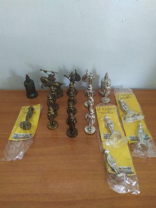 Figuras suelta ajedrez de Sevilla