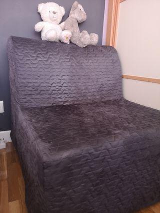 Sillón cama convertible individual