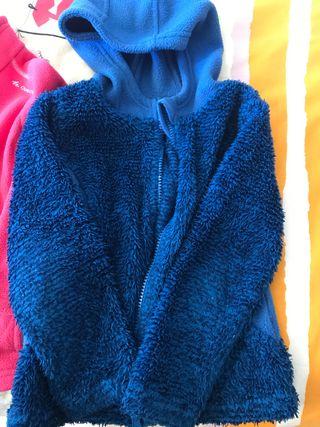 Pack 2 chaquetas forro polar niña