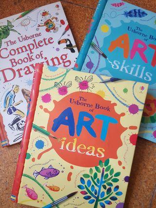 Libros de arte para niños USBORNE