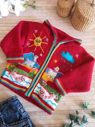 chaqueta lana Talla 12 meses invierno