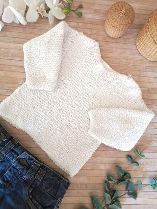 Jersey talla 18 meses hecho a mano de invierno