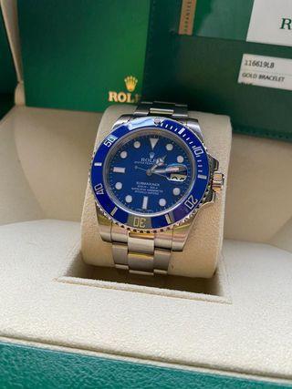 Rolex Submariner oro blanco