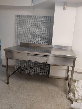 Mesa de metal para Carniseria